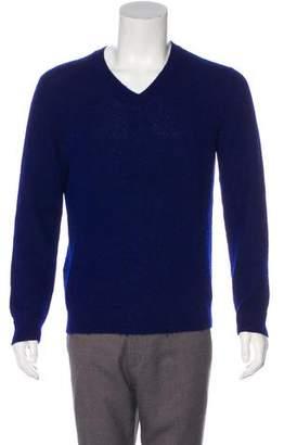 Prada Alpaca V-Neck Sweater