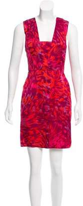 Adam Printed Mini Dress w/ Tags