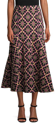 Temperley London Long Onyx Evening Skirt