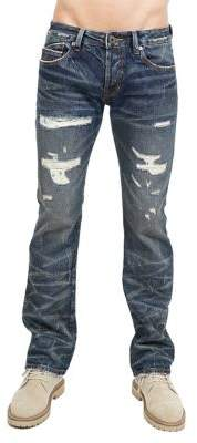 Cult of Individuality Greaser Cotton Straight Jeans