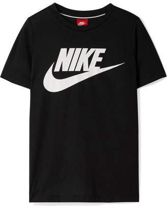Nike Essential Printed Stretch-jersey T-shirt - Black