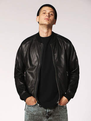 Diesel Leather jackets 0EATR - Black - L