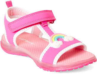 Carter's Toddler Girls) Fuchsia Feline Light-Up Sandals