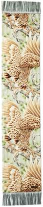 Ralph Lauren Mayfair Tasseled Print Scarf