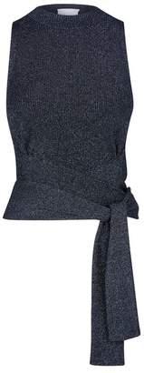 3.1 Phillip Lim Knitted Tie Waist Top