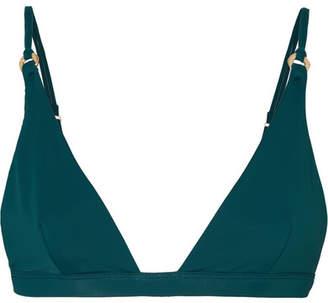 Fella - Jay Gatsby Triangle Bikini Top - Emerald