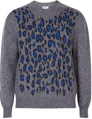 Kenzo Leopard Mohair Sweater