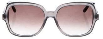 Bottega Veneta Square Gradient Sunglasses