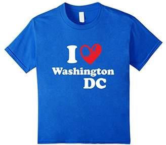 I Love Washington DC TShirt USA Vintage Travel Gift Shirt