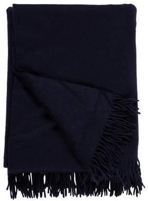 Frette Fringed Cashmere Throw Blanket