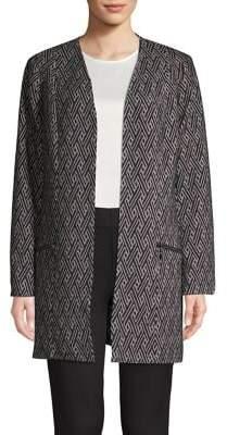 Nipon Boutique Zigzag Long-Sleeve Topper