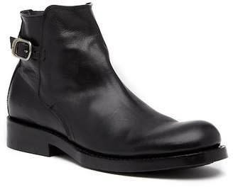 Frye Folsom Leather Moto Boot