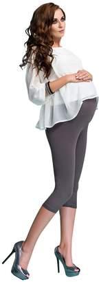 Ossa Fashion Maternity Leggings Cropped 3/4 Length Cotton Pants Very Comfortable