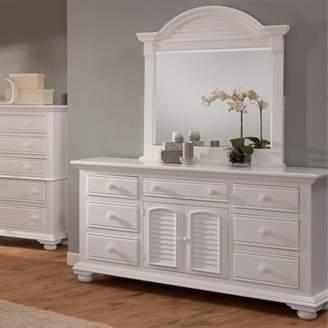 Three Posts Morpeth 7 Drawer Wood Dresser