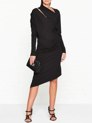Vivienne Westwood Jersey Timans Long Sleeve Dress - Black