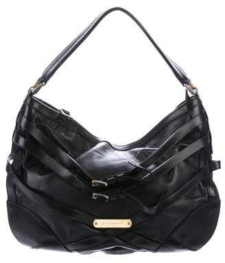 Burberry Leather Bridle Hobo