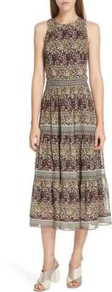 Sea Maya Floral Print Midi Dress