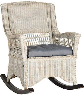 One Kings Lane Aria Rocking Chair - Whitewash