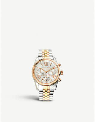 Michael Kors MK5735 Bradshaw two-tone steel watch