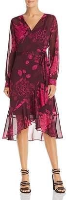 Diane von Furstenberg nanette Nanette Lepore Floral Wrap Dress