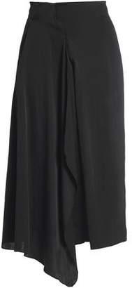 Vanessa Bruno Draped Crepe Skirt