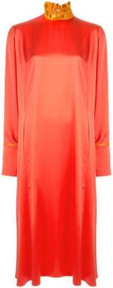 Roksanda ruffled neck dress