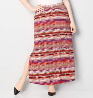 Avenue Sunset Ikat Maxi Skirt