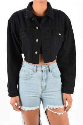 Timeless Black Denim Jacket