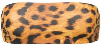 The Upside leopard print bikini top