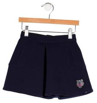 Kenzo Girls' Flared Pleated Skirt
