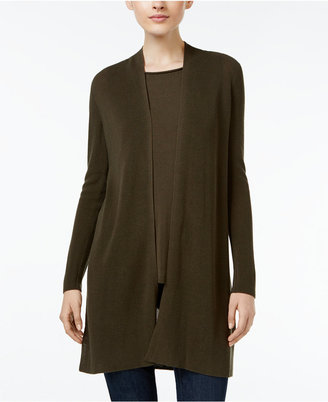 Eileen Fisher Tencel® Rib-Knit Open-Front Cardigan $278 thestylecure.com