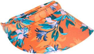 Nine West Tropical Floral Visor - Women's