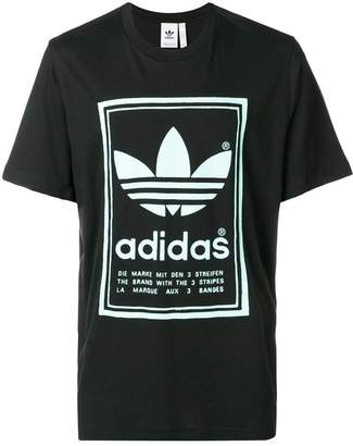 adidas Vintage print T-shirt