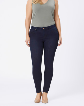 Jeanswest Curve Embracer Skinny Jeans Indigo Ink