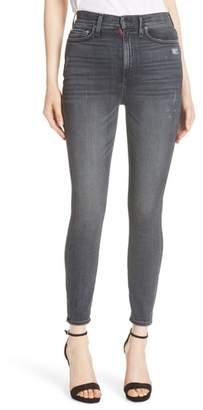 Alice + Olivia Good High Waist Ankle Skinny Jeans