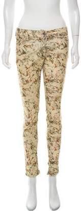 Etoile Isabel Marant Corduroy Mid-Rise Jeans