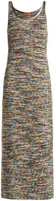 Missoni Multicoloured Intarsia Knit Dress - Womens - Multi