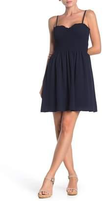 BeBop Smocked Sweetheart Dress