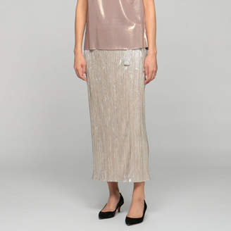 メゾン・ペール SILVER PLEATS SKIRT