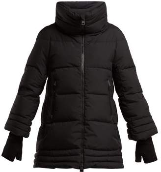 Herno A Shape Windstopper Down Filled Jacket - Womens - Black