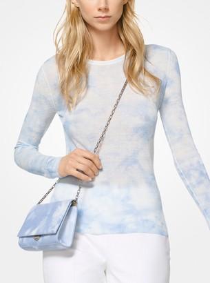 Michael Kors Tie-Dye Viscose and Linen Sweater