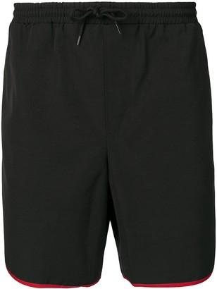 Gucci contrasting trim swim shorts