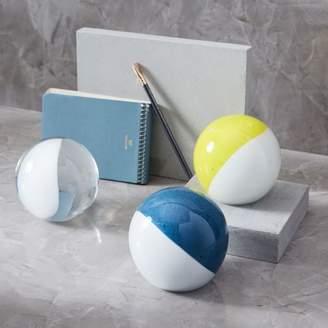 west elm Glass Spheres