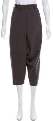 Issey Miyake High-Rise Harem Pants