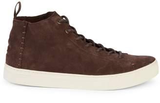 Toms Lenox Mid-Top Suede Sneakers