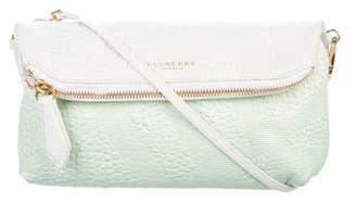 Burberry Pebbled Leather Crossbody Bag