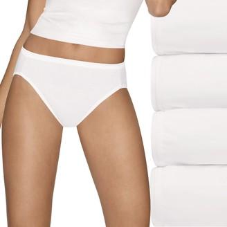 Hanes Women's Ultimate 5-pk. + 2 Bonus Comfort Ultra Soft Hi-Cut Panties 43HUC7