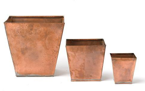 Copper Pots, Square