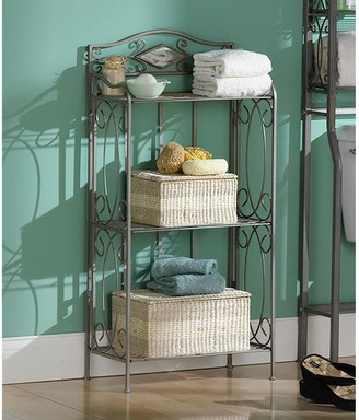 Southern Enterprises Reflections Three-Tier Rack