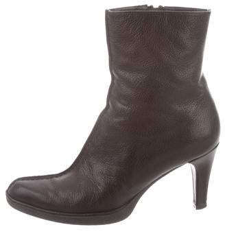 Stuart Weitzman Pointed-Toe Ankle Booties